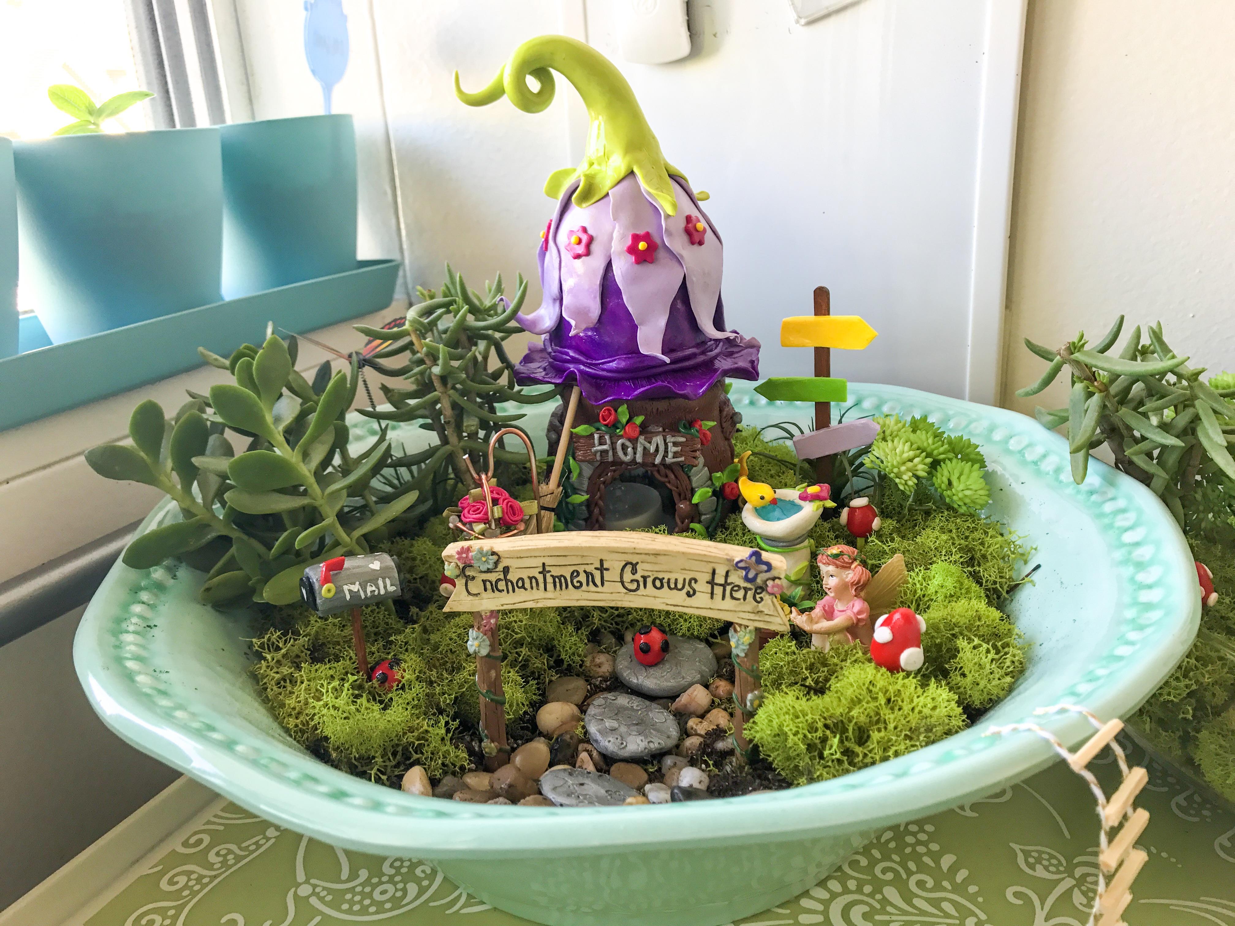 Enchanted Fairy Garden (Part 3)