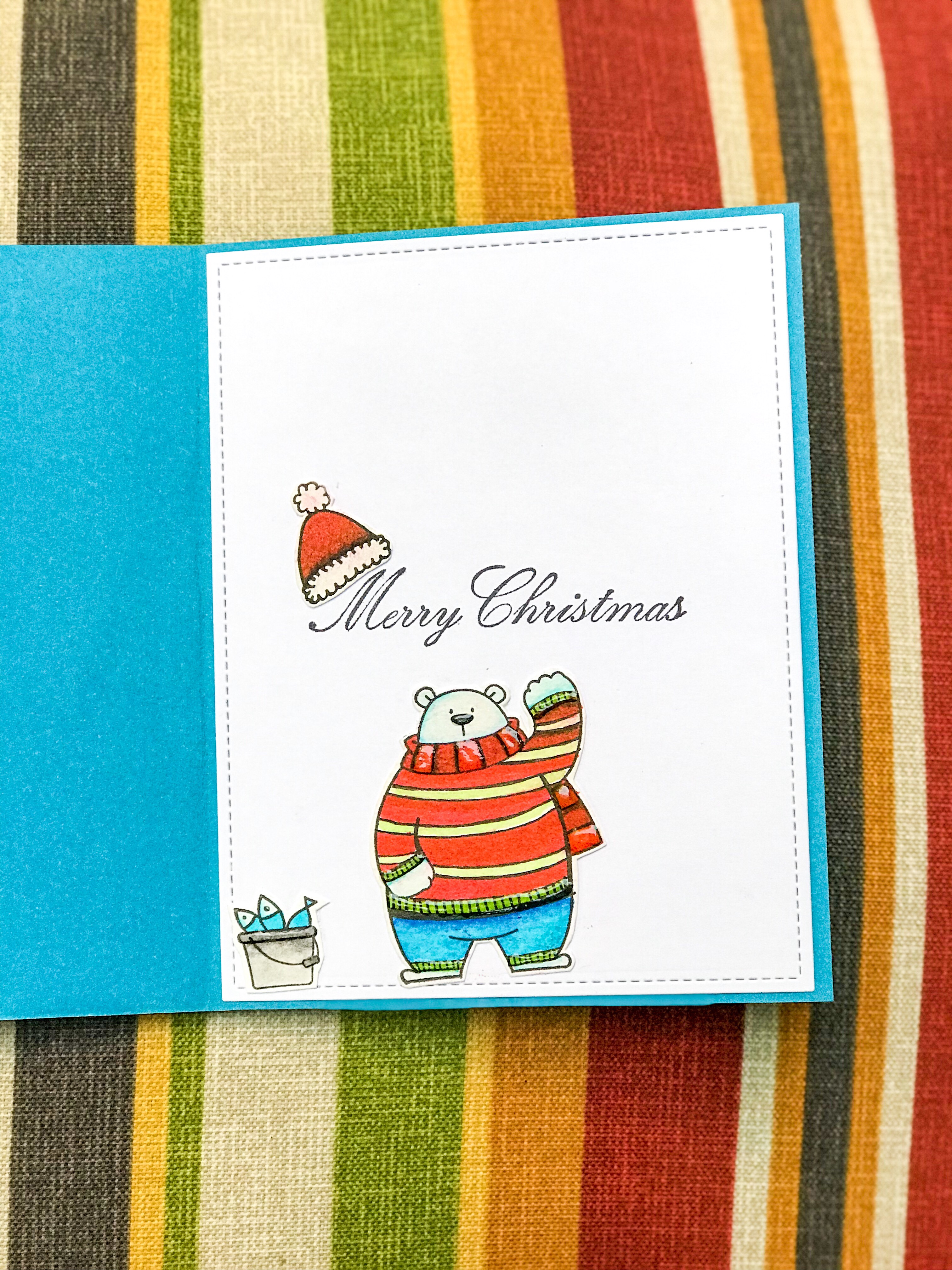 Greetings From The North Pole Artful Geet Creations
