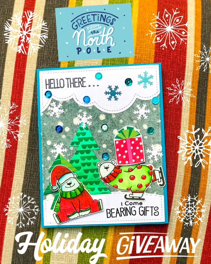Greetings from the north pole artful geet creations greetings from the north pole m4hsunfo